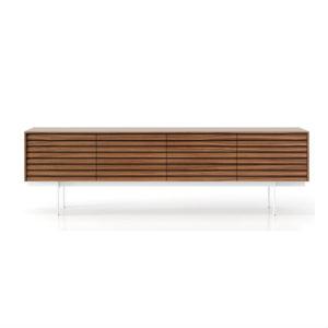 Punt Sussex 4 Doors Super Matt Walnut Contemporary Designer Furniture