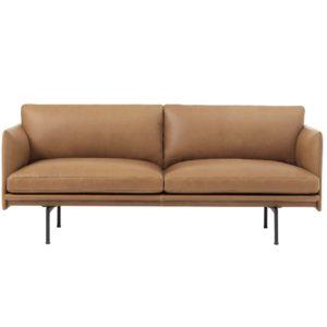 Muuto Outline sofa 3 seater furniture contemporary designer