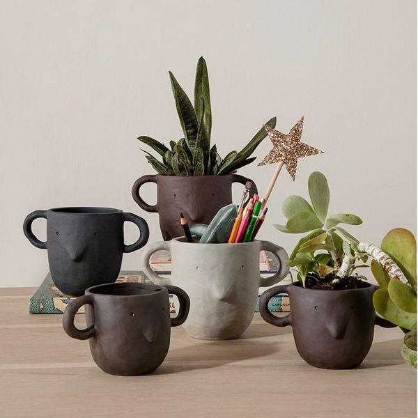 Ferm Living Mus Plant Pot lifestyle2 Contemporary Designer Homeware