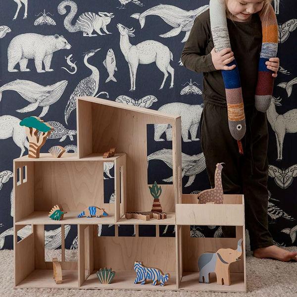Ferm Living Safari Animal Box lifestyle Contemporary Designer Homeware