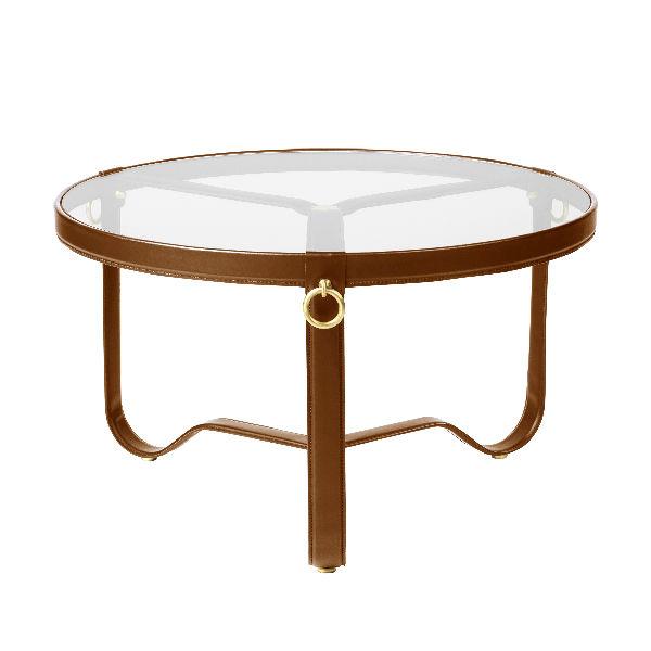 Gubi Adnet Tan Leather 70cm Contemporary Designer Furniture