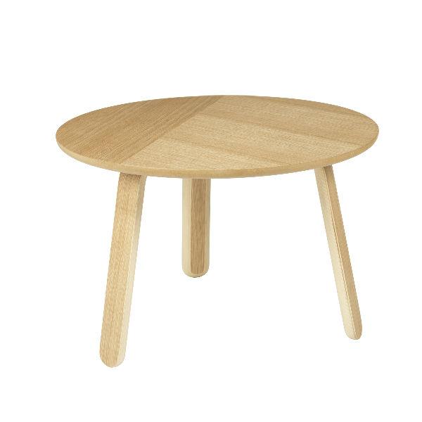 Gubi paper Coffee Table oak 60cm Contemporary designer furniture