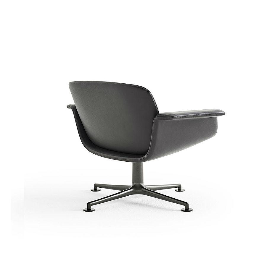Knoll-KN01-Chair-Black Designer Contemporary Furniture