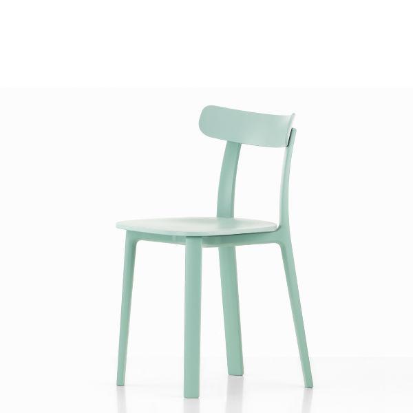 Vitra All Plastic Chair Ice Gray Contemporary Designer Furniture