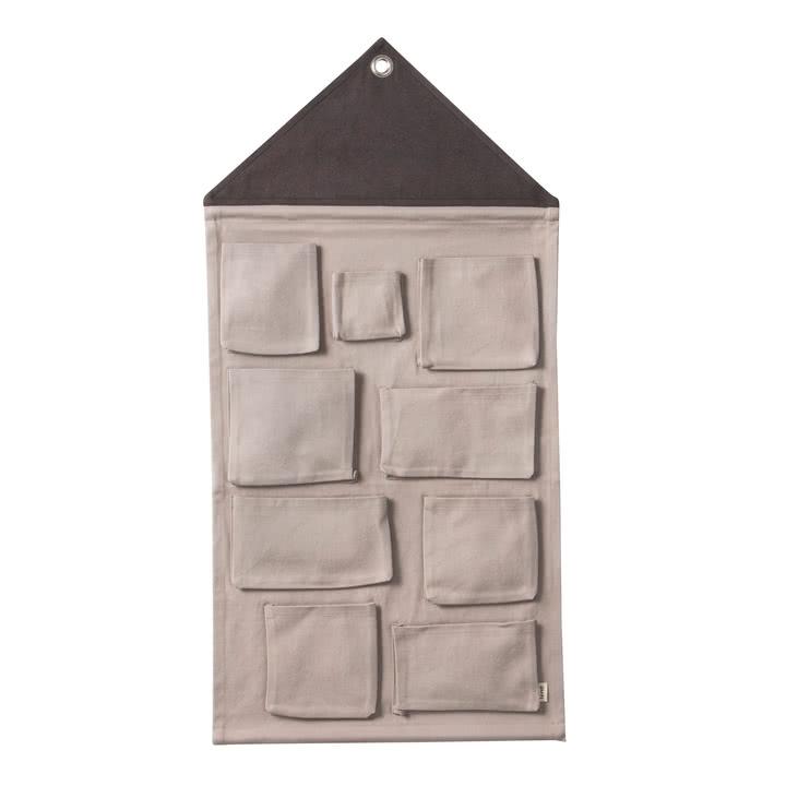 ferm-Living-House storage grey Contemporary Designer Homeware