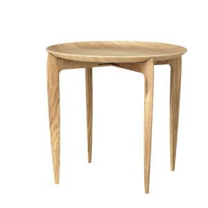 Fritz Hansen Objects Tray Table oak Contemporary Designer Furniture