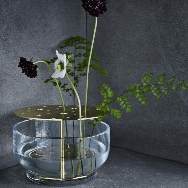 Fritz Hansen Ikebana Large Round Vase Lifestyle1 Contemporary Designer Homeware