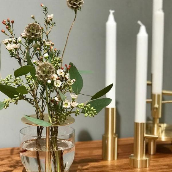 Fritz Hansen Ikebana Small Vase Lifestyle1 Contemporary Designer Homeware