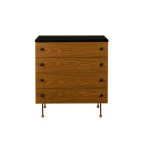 Gubi 62 Series 4 drawers Contemporary Designer Furniture