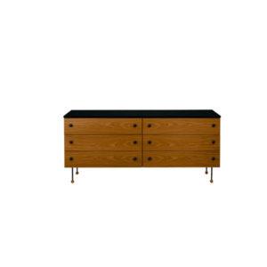 Gubi 62 Series 6 drawers contemporary designer furniture