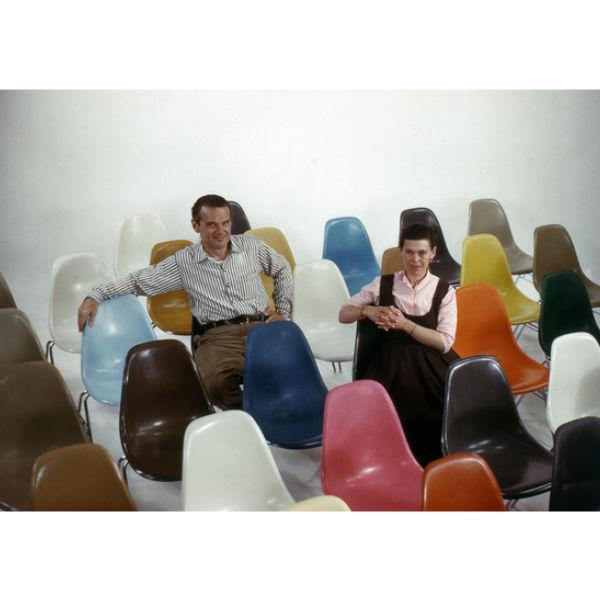 Vitra DSW Fiberglass Side Chair Lifestyle