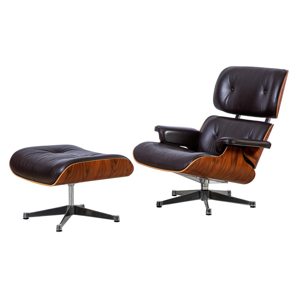 Vitra Eames Santos Palissander Lounge contemporary designer homeware