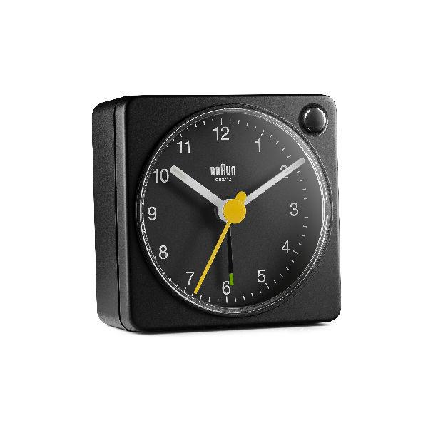 Braun BC02X Classic Travel Analogue Alarm Clock