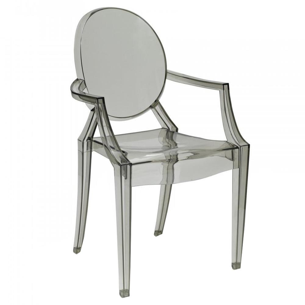 Kartell Louis Ghost Chair Grey
