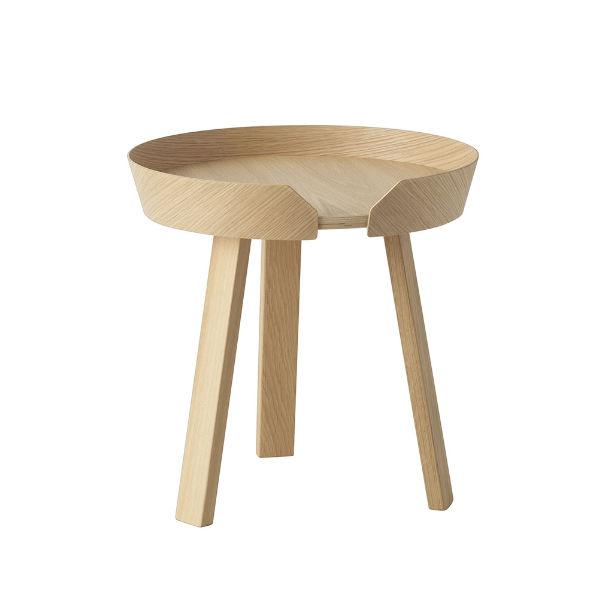 Muuto Around Coffee Table 45cm Oak Contemporary Designer Furniture