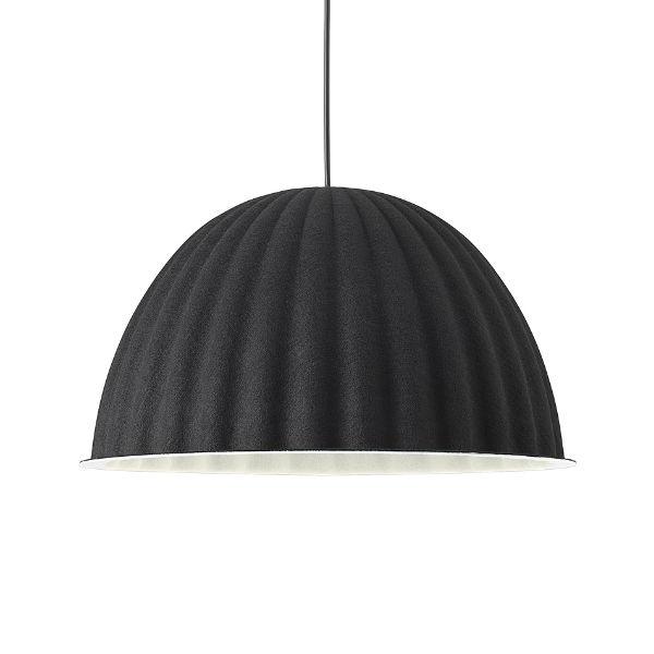 Muuto Under The Bell Pendant 55cm Black Contemporary Designer Lighting