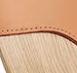 matt oak and brandy leather