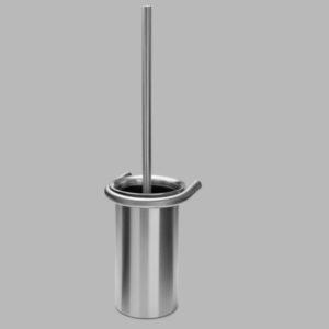 D line Knud Toilet Brush Holder Stainless Steel Contemporary Designer Homeware
