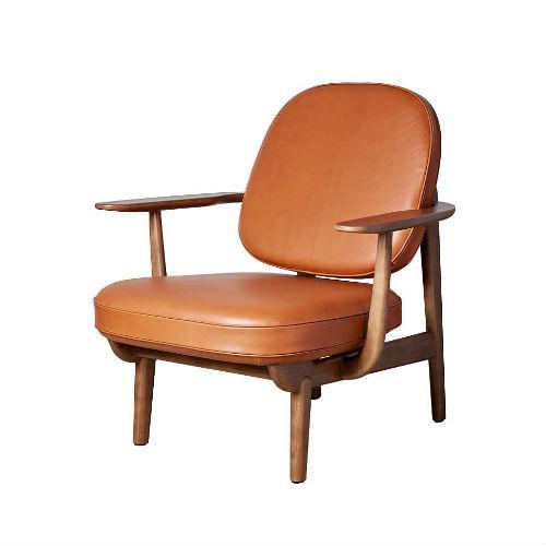 Fritz Hansen JH97 Walnut Stained Oak Contemporary Designer Furniture