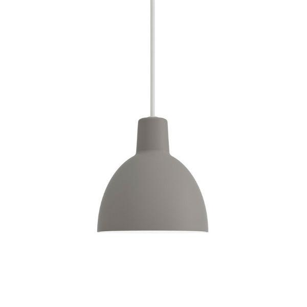 Louis Poulsen Toldbod Pendant Light 12cm diam Light Grey