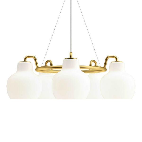 Louis Poulsen VL Ring Crown 5 Pendant Light