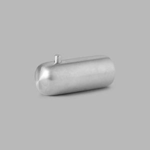 D Line Pebble Coat Hook Medium Stainless Steel contemporary designer homeware