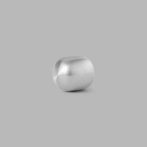 D Line Pebble Coat Hook Small Stainless Steel Contemporary Designer Homeware