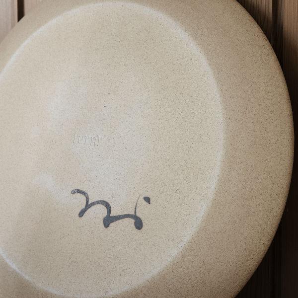 Ferm Living Dayo Ceramic Platter lifestyle2 contemporary designer homeware