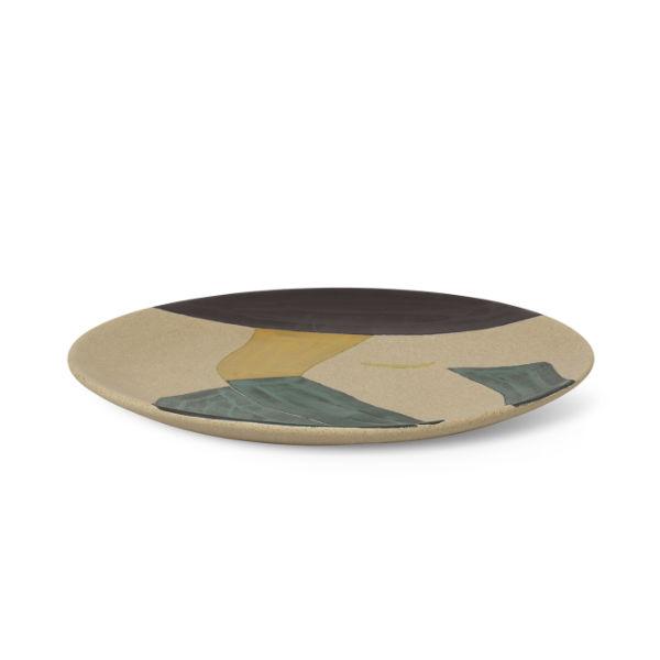 Ferm Living Dayo Ceramic Platter2 contemporary designer homeware