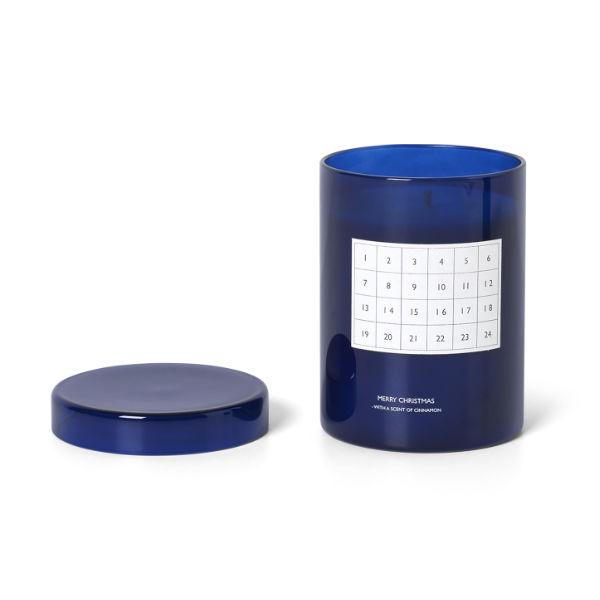 Ferm Living Scented Calendar Candle Blue2 Contemporary Designer Homeware
