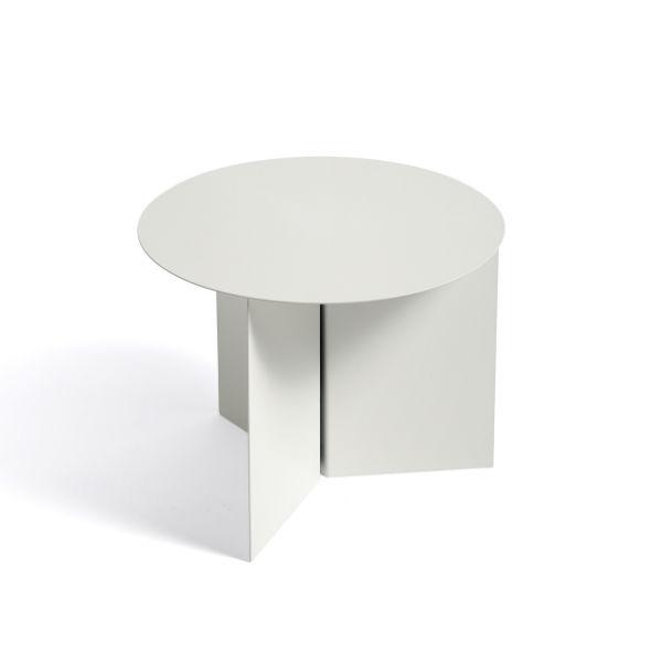 Hay Slit Table Round White contemporary designer furniture