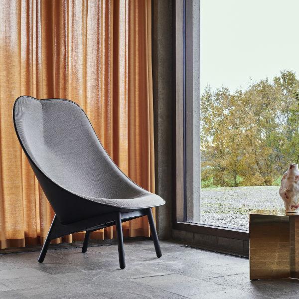 Hay Uchiwa Lounge Chair in Remix 123 lifestyle1 contemporary designer furniture