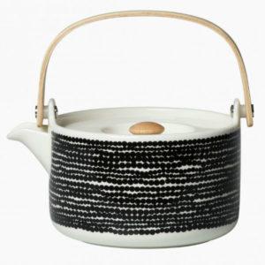 Marimekko Oiva Siirtolapuutarha teapot contemporary designer homeware