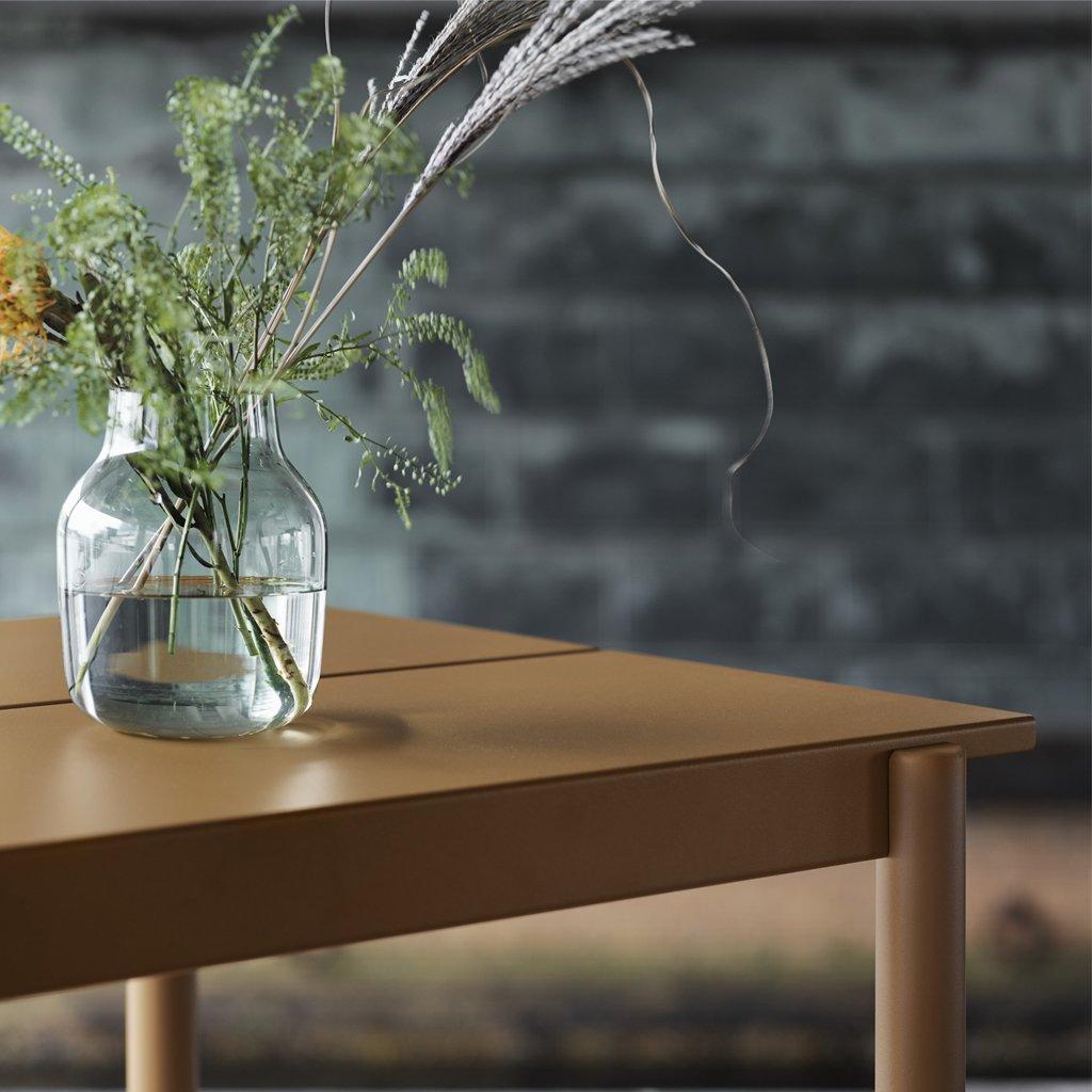 Muuto Silent Vase Clear contemporary designer homeware