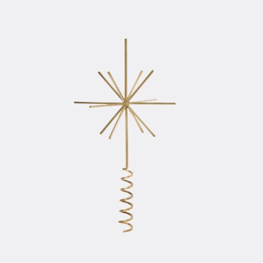 Ferm Living Christmas Tree Top Star1 Contemporary Designer Homeware