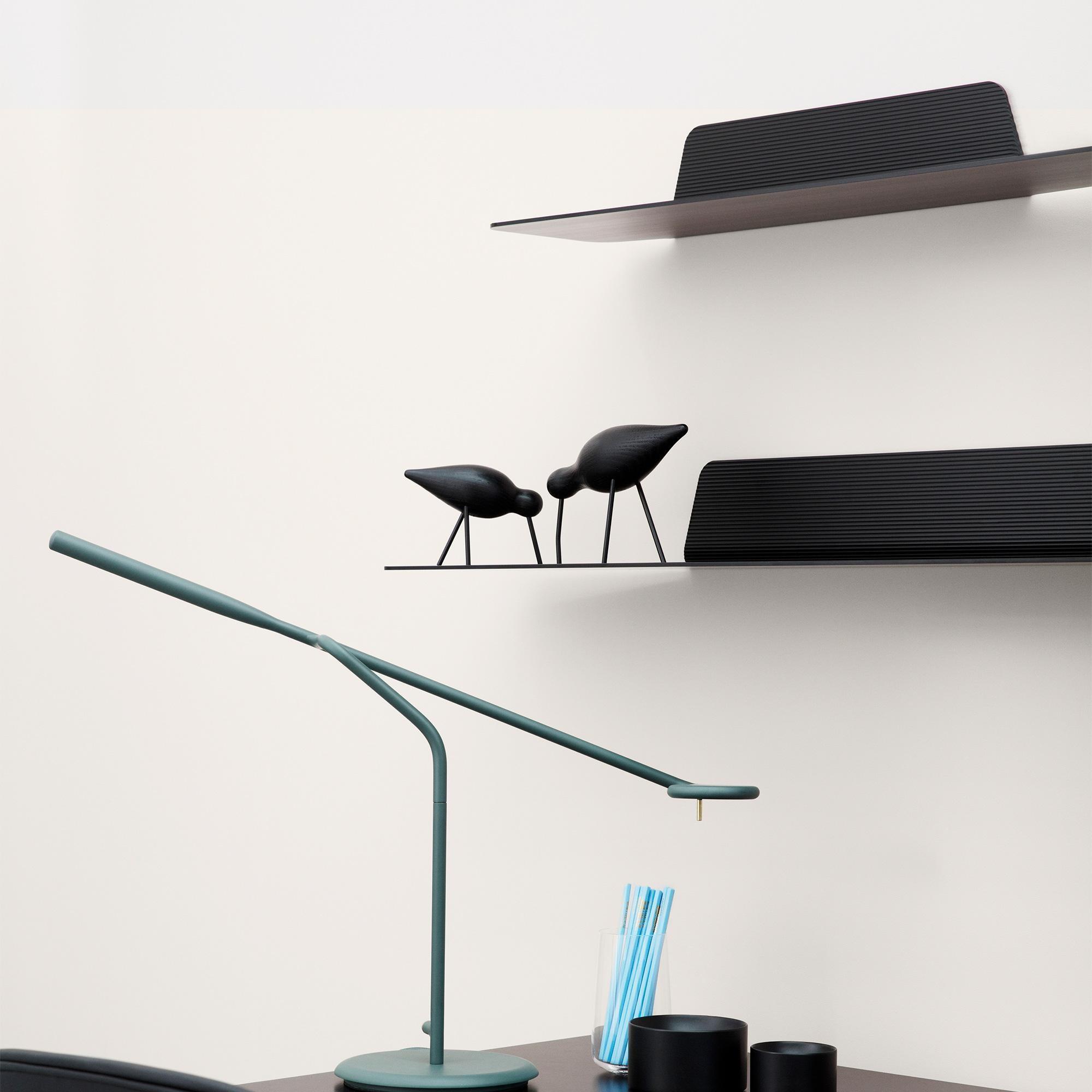 Normann Copenhagen Shorebird Black lifestyle 3 contemporary designer homeware