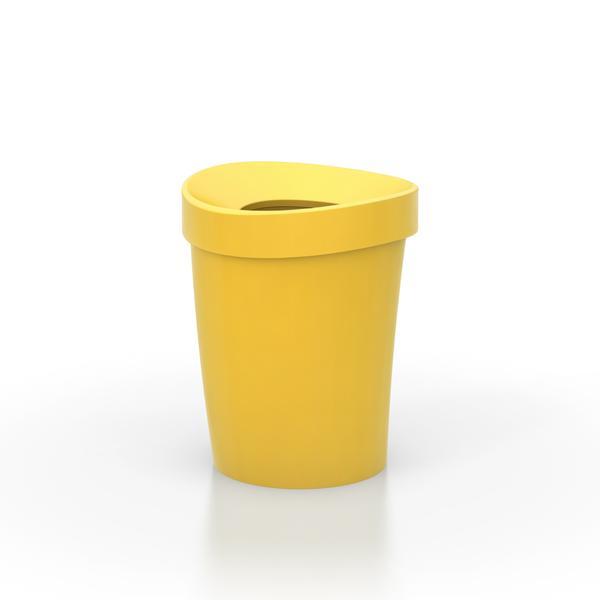 Vitra Happy Bin Small Yellow contemporary designer homeware