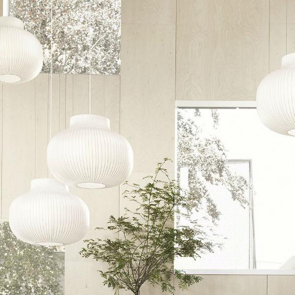 Muuto Strand Pendant Lamp - Closed - Lifestyle2 contemporary designer lighting