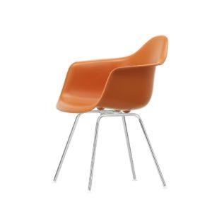 Vitra DAX Eames Plastic Armchair poppy red furniture contemporary designer