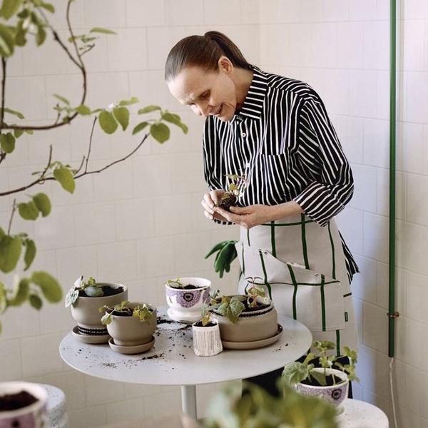 Marimekko flower pot contemporary designer homeware