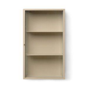 Ferm Living Haze Wall Cabinet Cashmere ferm living contemporary designer furniture storage