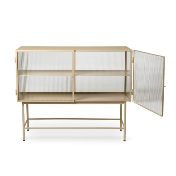 Haze sideboard cashmere ferm living open contemporary designer furniture