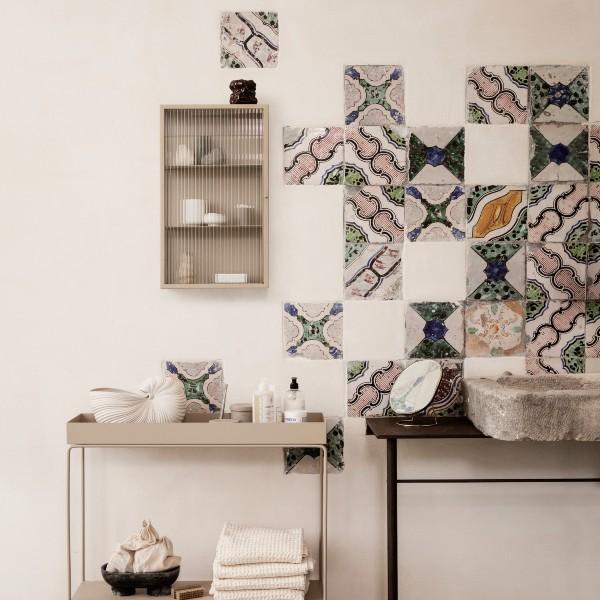 Haze wall cabiinet cashmere lifestyle ferm living contemporary designer furniture