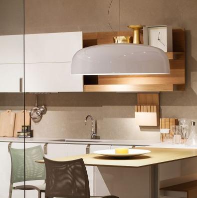 Oluce canopy pendant light contemporary designer lighting