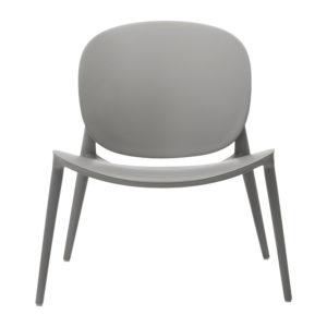 Kartell be bop chair grey lifestyle contemporary designer furniture