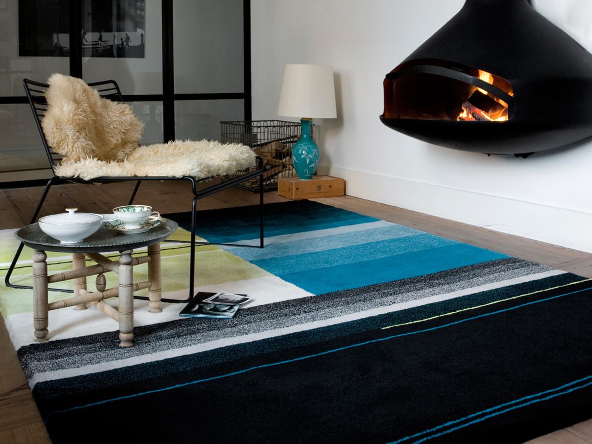 Hay-Colour-Carpets-Black-grey-turquoise-design