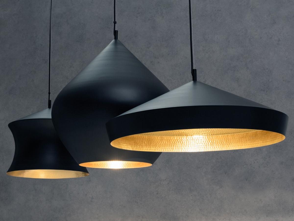 Tom-Dixon-Beat-Flat-Pendant-Light-Black-styled