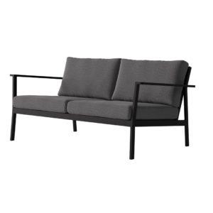 Case EOS Sofa 2 Seat Black Furniture Contemporary Designer