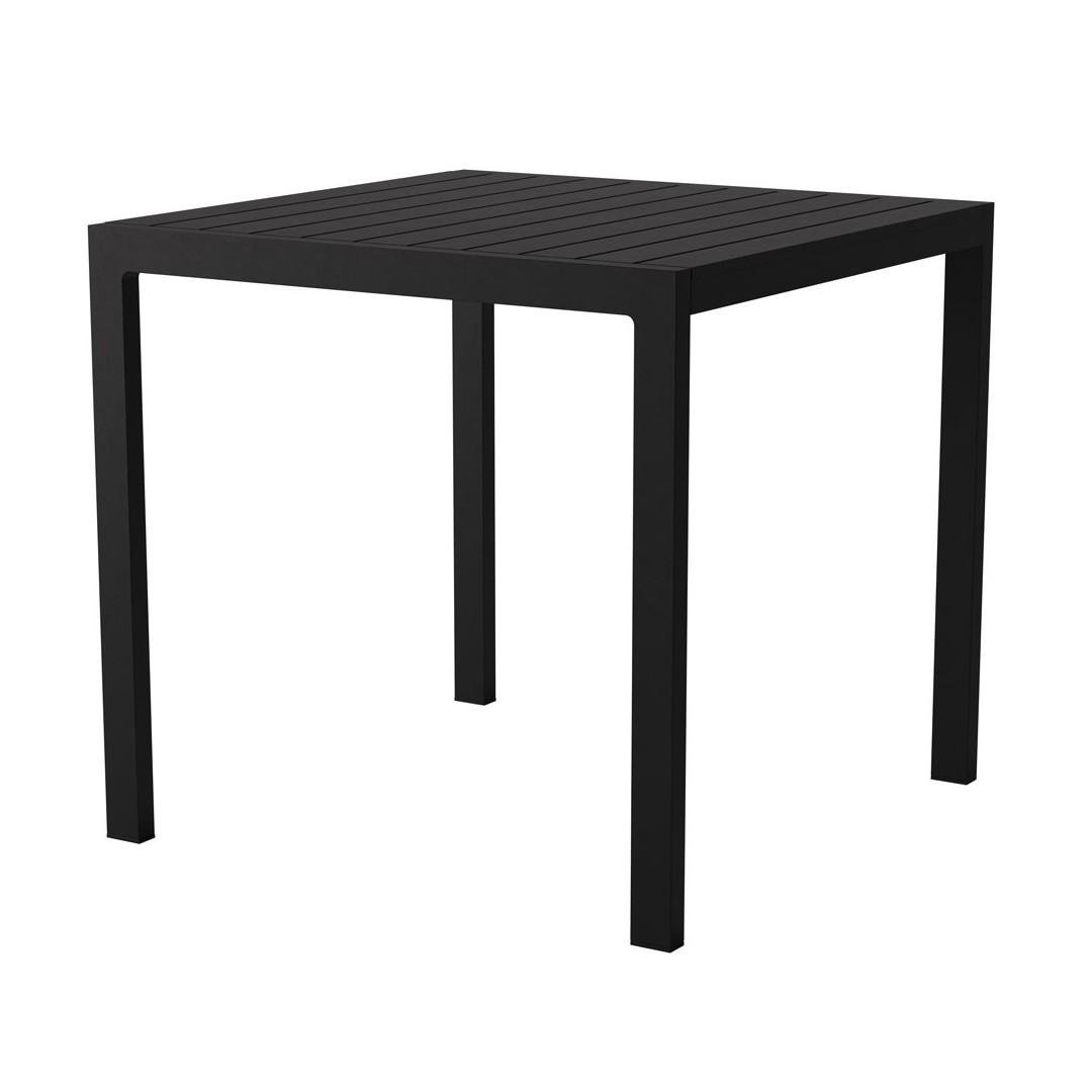Case Eos Square Table Black Case Furniture Contemporary Designer