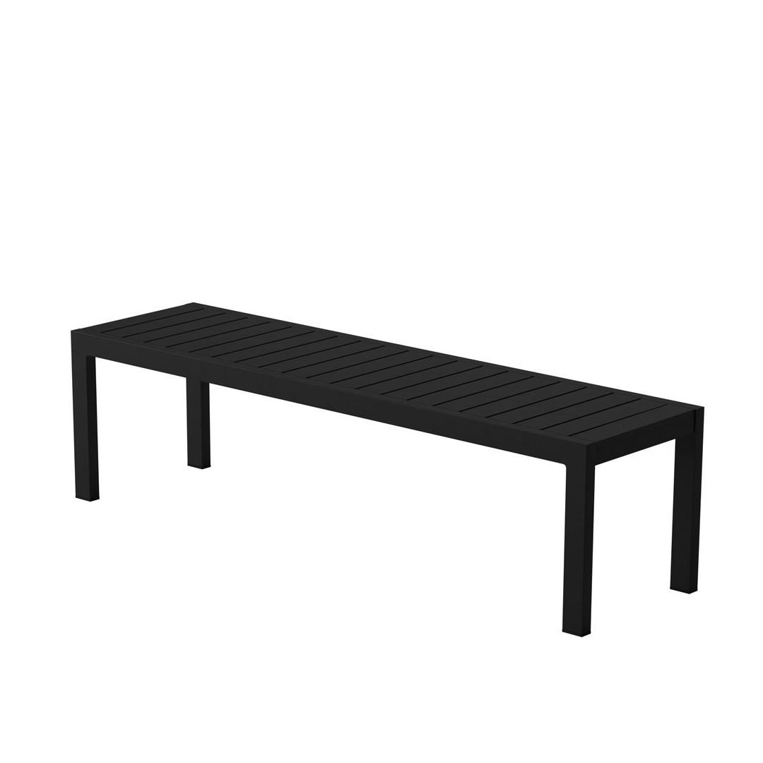 Case Furniture Eos Bench Black furniture Contemporary designer